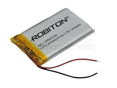 Аккумулятор Robiton LP503759 (1200 мАч)