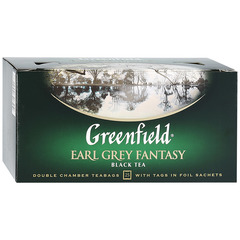 "Чай чёрный ""Greenfield"" Earl Grey Fantasy 25*2г"