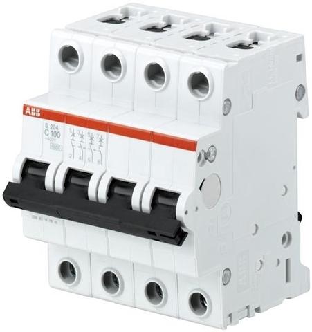 Автомат.выкл-ль 4-полюсной S204 C80