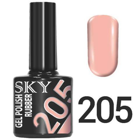 Sky Гель-лак трёхфазный тон №205 10мл