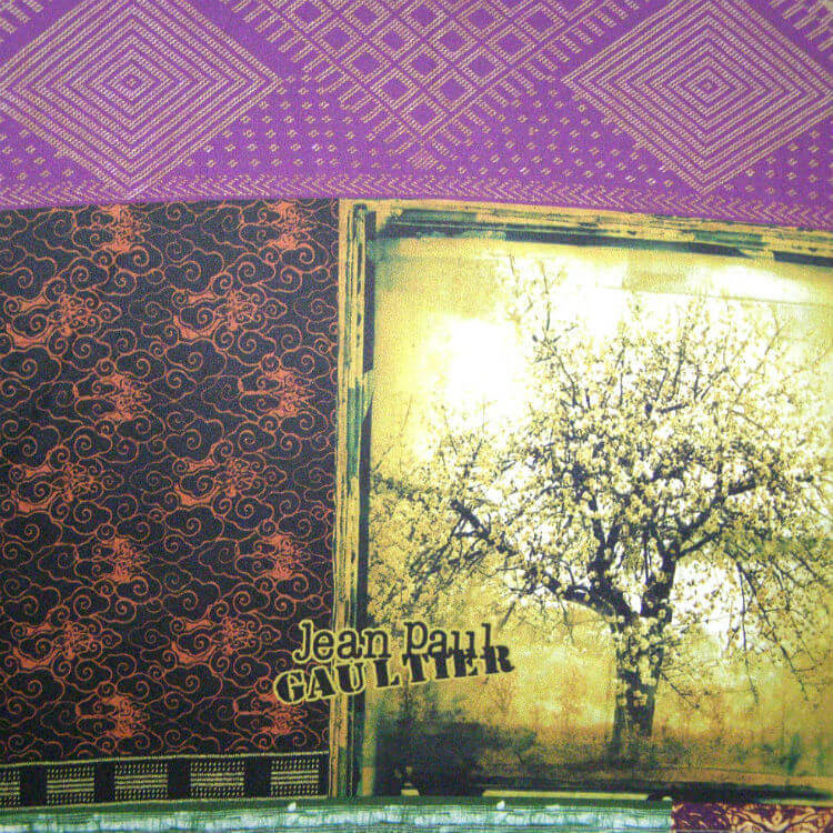 Зонт-трость JP Gaultier 1182-1 Patch Indien