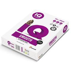 Бумага для офисной техники IQ Smooth (А4, марка A+, 120 г/кв.м, 500 листов)