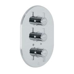 Встраиваемый термостатический смеситель для душа RS-Q 9327S на 3 выхода