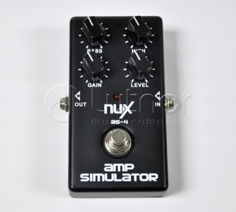 Nux Cherub NUX-AS-4 Modern Amplifier Simulator Педаль эффектов