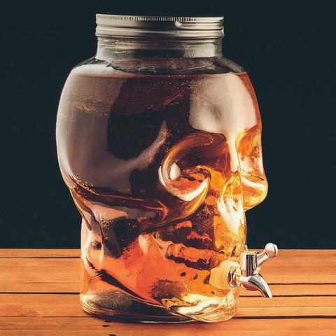 Диспенсер для напитков «Череп»,  8 литров