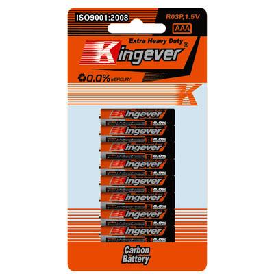 Батарейки Kingever ААА 8шт. фото