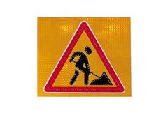 Светодиодный дорожный знак «Дорожные работы»