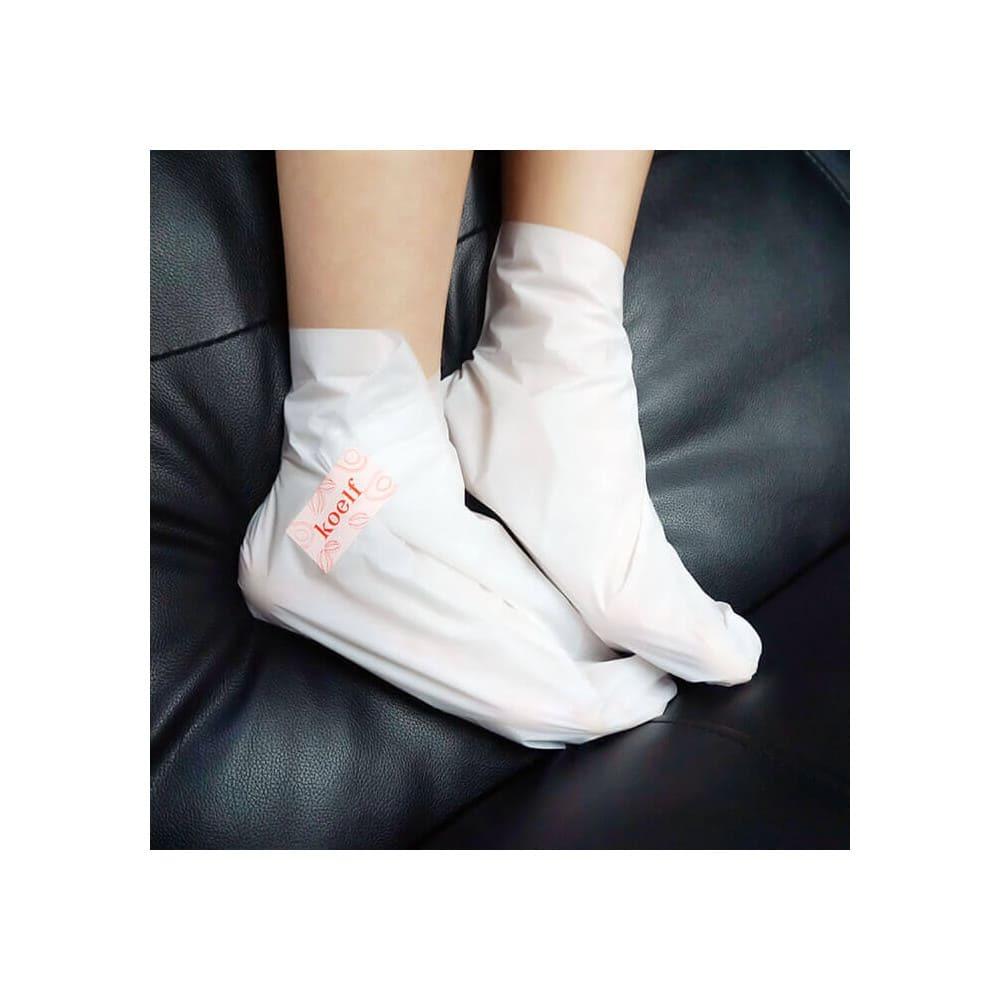 Koelf Melting Essence Foot Pack — Смягчающая маска для ног в виде носочков