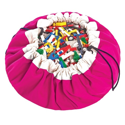 Коврик-мешок для игрушек Play&Go. Коллекция Classic. Фуксия