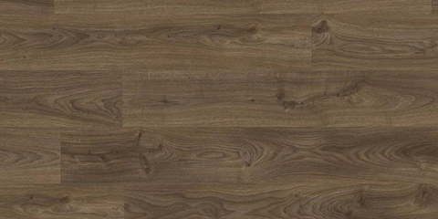 ПВХ плитка, кварц виниловый ламинат Quick Step LVT Balance click Дуб коттедж темно-коричневый BACL40027