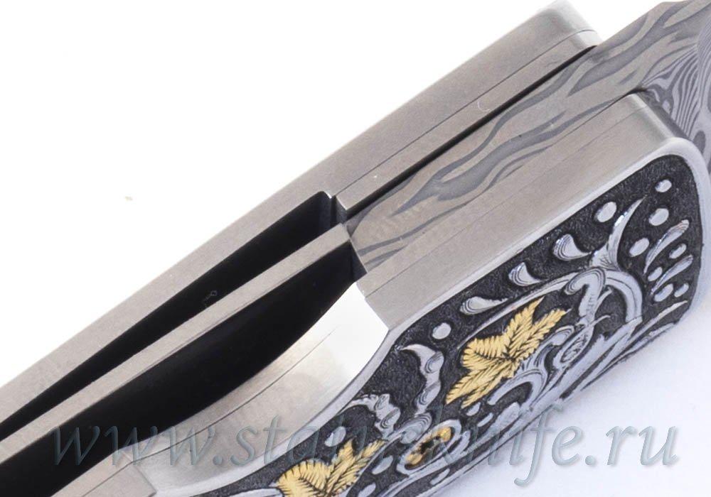Нож Paolo Gidoni Engraver Erik Ansaldi Samurai - фотография