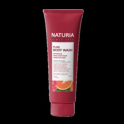 Гель для душа Evas Naturia Pure Body Wash Cranberry & Orange, 100мл