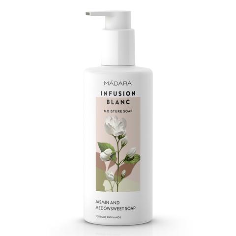 Увлажняющее жидкое мыло Infusion Blanc