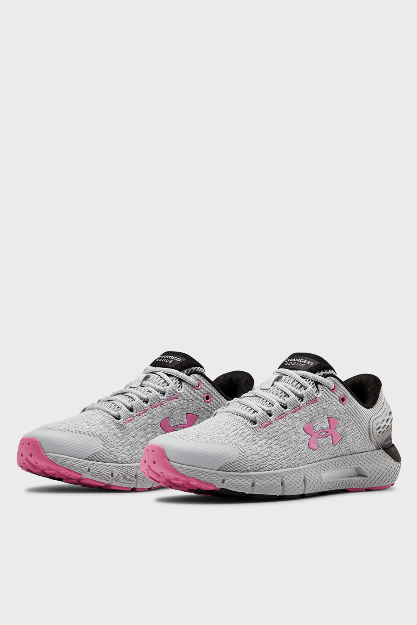 Женские серые кроссовки UA W Charged Rogue 2-GRY Under Armour