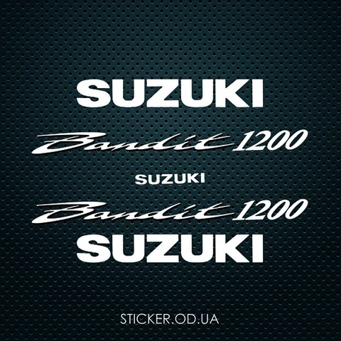 Набор наклеек на мотоцикл Suzuki Bandit 1200