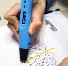 3Д ручка Easy Real RP400A (синий)