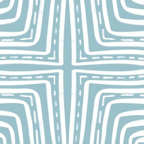Лабиринт (светло-голубой)