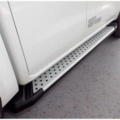 Боковые пороги S4 с крепережом Hyundai IX35 (2010-2015)