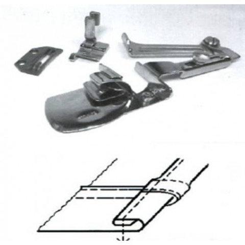 Окантователь для подгиба края ткани в 3 сложения  для тяжелых материалов KHF53 1/2 (12,7мм) | Soliy.com.ua
