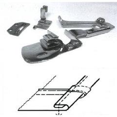 Фото: Окантователь для подгиба края ткани в 3 сложения  для тяжелых материалов KHF53 1/2 (12,7мм)
