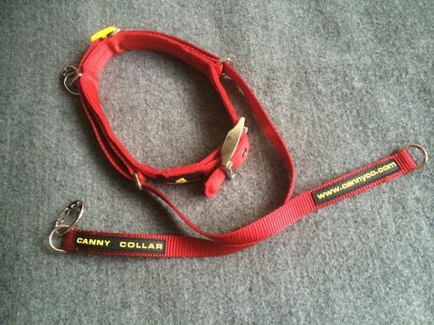 Ошейник Canny Collar- сдерживающий тянущую собаку, размер 2 (28CM - 33CM) , цвет черный