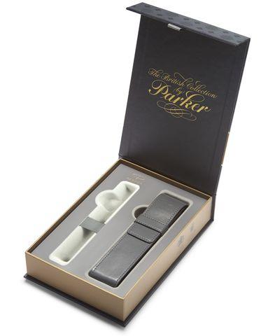 Подарочная коробка Parker с серым чехлом под ручку