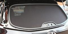 Каркасные автошторки на магнитах для Lada Granta (2011+) Лифтбэк. Экран на заднее ветровое стекло