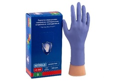 Перчатки Safe&Care Фиолетовые LN 308 (200 шт.)размер XS
