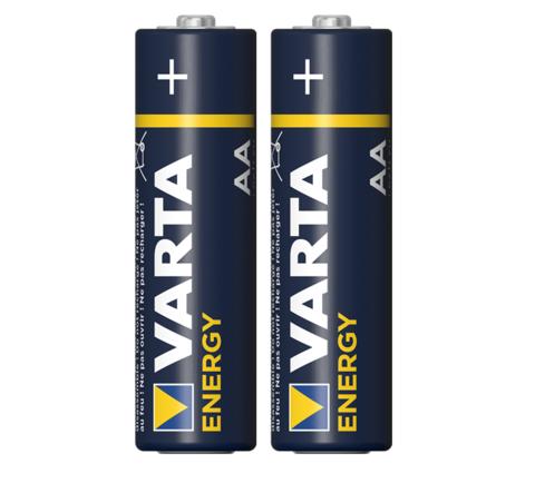 Батарейка щелочная VARTA LR6 (AA) Energy 1.5В бл/2