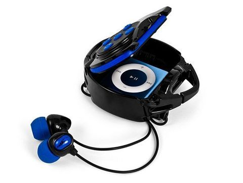 Waterproof Headphone System for iPod Shuffle 4G