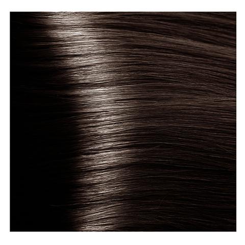 Крем краска для волос с гиалуроновой кислотой Kapous, 100 мл - HY 5.757 Светлый коричневый пралине