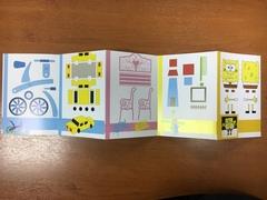 Книжка с трафаретами для 3Д ручки