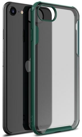 Чехол на iPhone SE (2020), 7 и 8 с зелеными рамками, серии Ultra Hybrid от Caseport