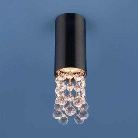Накладной потолочный светильник 1084 GU10 BK черный