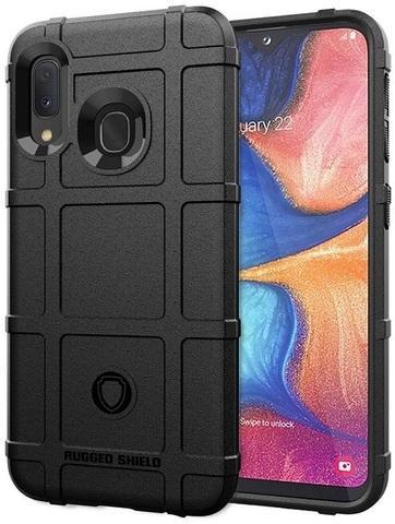 Чехол Samsung Galaxy A20 (Galaxy A30, M10S) цвет Black (черный), серия Armor, Caseport