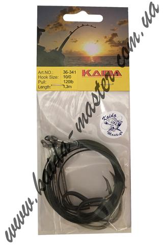 Крючки с поводком Kaida Catfish 36-341-6/0