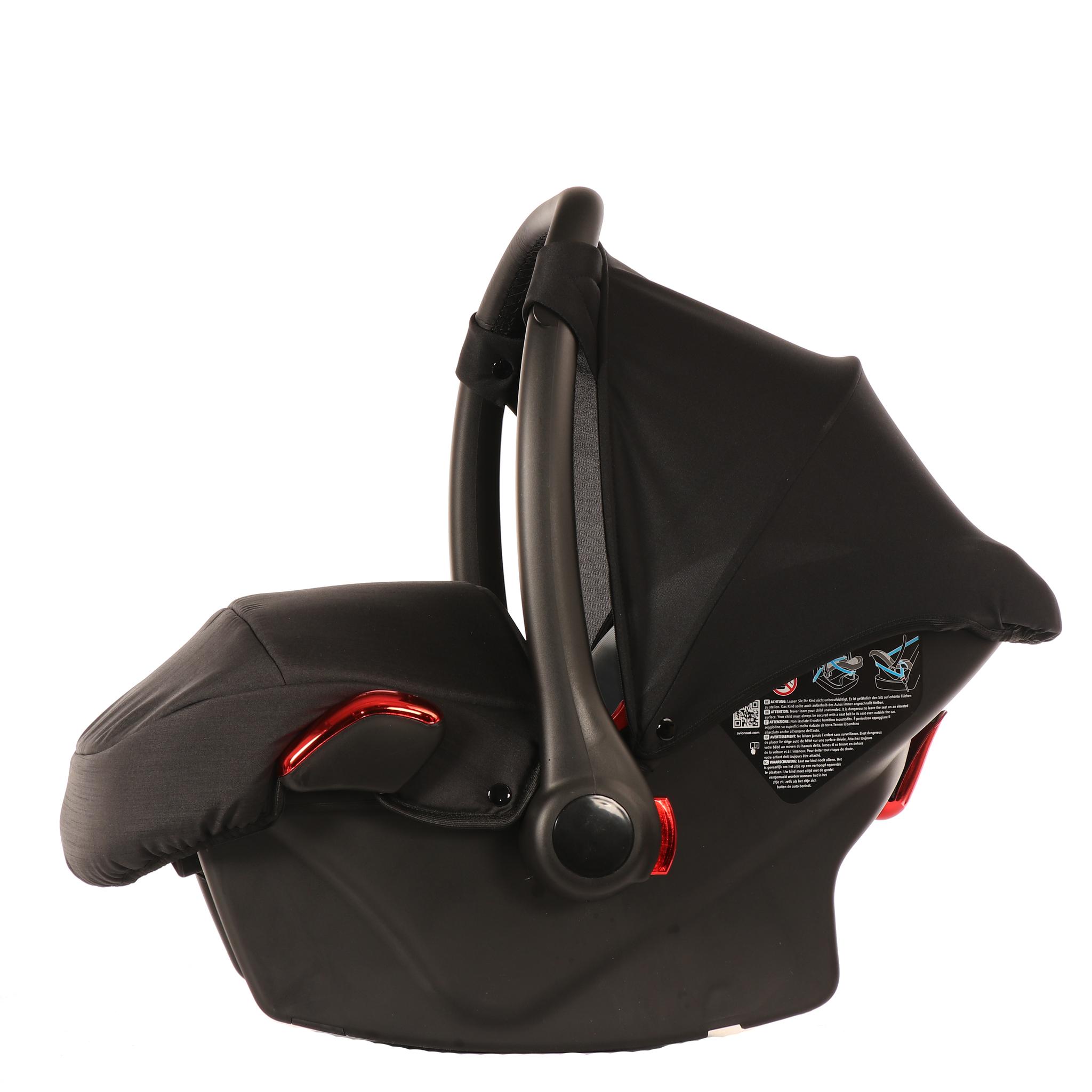 JUNAMA Автокресло JUNAMA (Ткань) черное с красным  AJ-I01 AJ-I01_черный-_красный.JPG