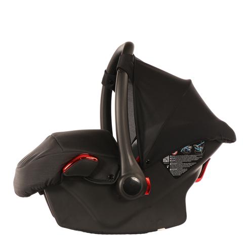 Автокресло JUNAMA (Ткань) черное с красным  AJ-I01
