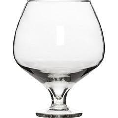 Ваза Бокал стекло прозрачная высота изделия 20 см