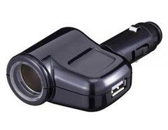 Разветвитель на 1 гнездо + USB FIZZ-941