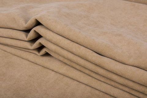 Штора готовая однотонная из портьерной ткани | цвет: бежевый | размер на выбор