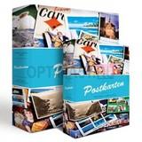 Альбом для почтовых открыток включая 50 листов по 12 отделений на странице