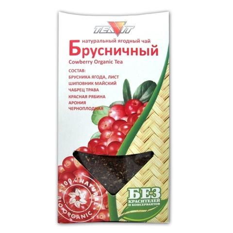 Чай напиток Брусничный, 50 гр. (Тиавит)