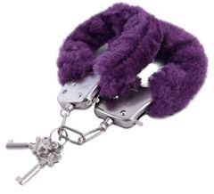 Фиолетовые наручники