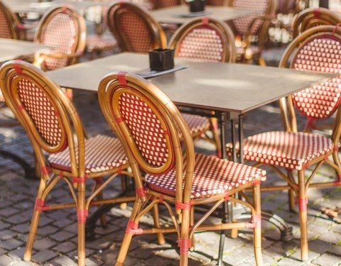 мебель для уличных кафе