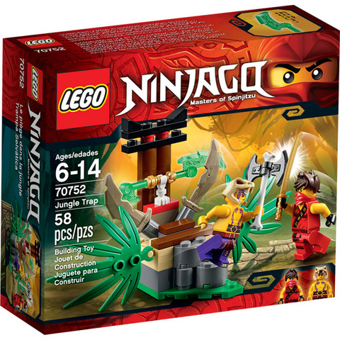 LEGO Ninjago: Ловушка в джунглях 70752 — Jungle Trap — Лего Ниндзяго