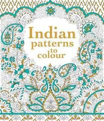Coloring book İndian patterns