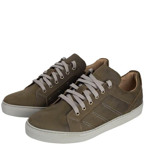 752308 Полуботинки мужские оливковые. КупиРазмер — обувь больших размеров марки Делфино