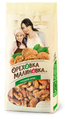ОРЕХОВКА МАЛИНОВКА Грецкий орех 190 г