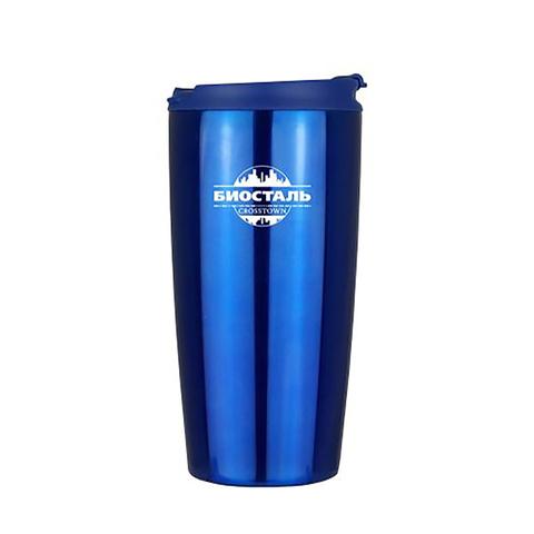 Термокружка Biostal Crosstown (0,5 литра), синяя